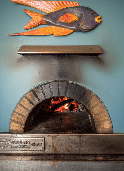 """Authentic """"Italian"""" Wood Fired Oven Pizzas"""
